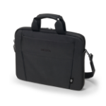 "Dicota Eco Slim Case BASE notebook case 31.8 cm (12.5"") Briefcase Black D31300-RPET"