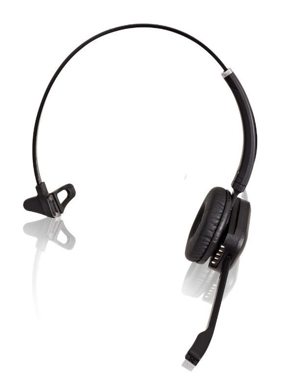 V7 HSW100-1E Monaural Head-band Black headset