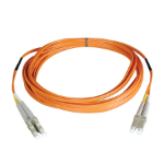 Tripp Lite Duplex Multimode 50/125 Fiber Patch Cable (LC/LC), 15M
