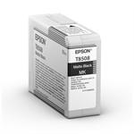 Epson C13T850800 (T8508) Ink cartridge black matt, 80ml