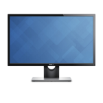 "DELL S Series SE2416H 61 cm (24"") 1920 x 1080 pixels Full HD LED Black"