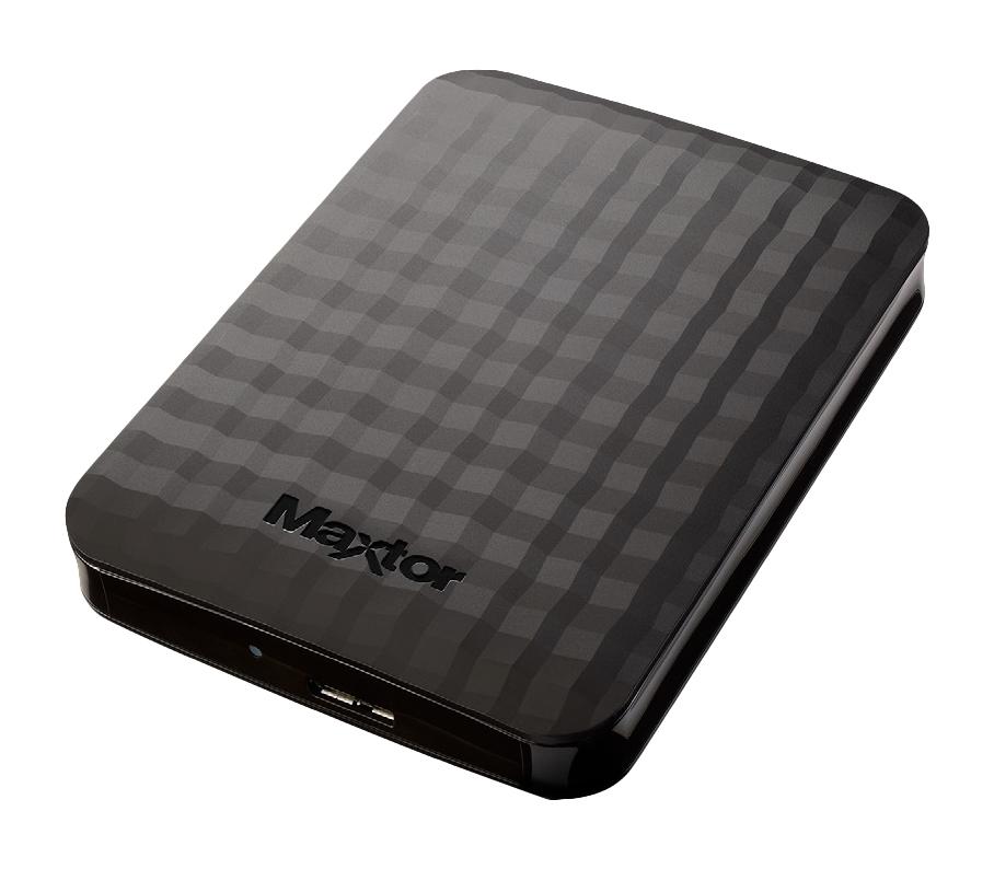 Seagate Maxtor M3 externe harde schijf 2000 GB Zwart
