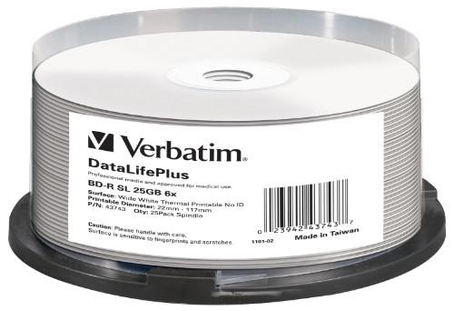 Verbatim DataLifePlus BD-R 25 GB 25 pc(s)