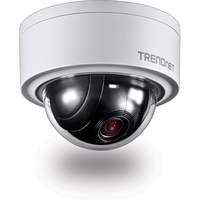 Trendnet TV-IP420P IP security camera Indoor & outdoor Dome White security camera