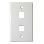 4XEM 4XFP02KYWH White outlet box