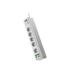 APC PM5V-FR Overspanningsbeveiliging Wit 5 AC-uitgang(en) 230 V 1,83 m