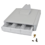 Ergotron 97-865 multimedia cart accessory Drawer Grey,White