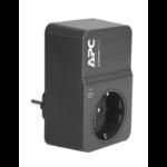 APC PM1WB-GR limitador de tensión 1 salidas AC 230 V Negro