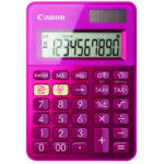 Canon LS-100K calculator Desktop Basic Pink