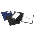 "Rexel Nyrexâ""¢ Slimview A4 Display Book 50 Pockets Black"