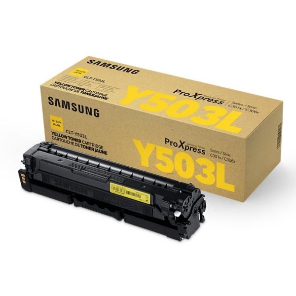 Samsung CLT-Y503L/ELS (Y503L) Toner yellow, 5K pages