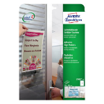 Avery L7083-10 self-adhesive label Transparent Rectangle Permanent 10 pc(s)