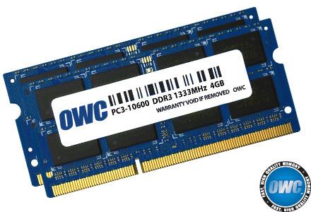 OWC 1333DDR3S08S 8GB DDR3 1333MHz memory module