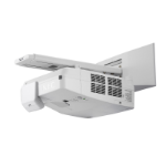 NEC UM351Wi Wall-mounted projector 3500ANSI lumens 3LCD WXGA (1280x800) White data projector