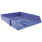 Q-CONNECT Q CONNECT LETTERTRAY BLUE