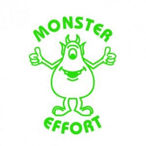 Colop Motivational Stamp Monster Effort