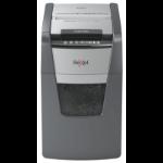 Rexel Optimum AutoFeed+ 150M paper shredder Micro-cut shredding 55 dB 22 cm Black, Silver