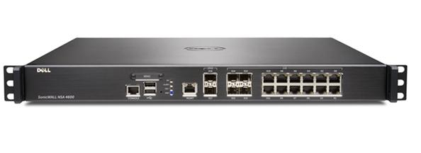 SonicWall NSA 4600 cortafuegos (hardware) 6000 Mbit/s 1U