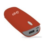 Ghia GAC-055 Ión de litio 4000mAh Rojo batería externa dir