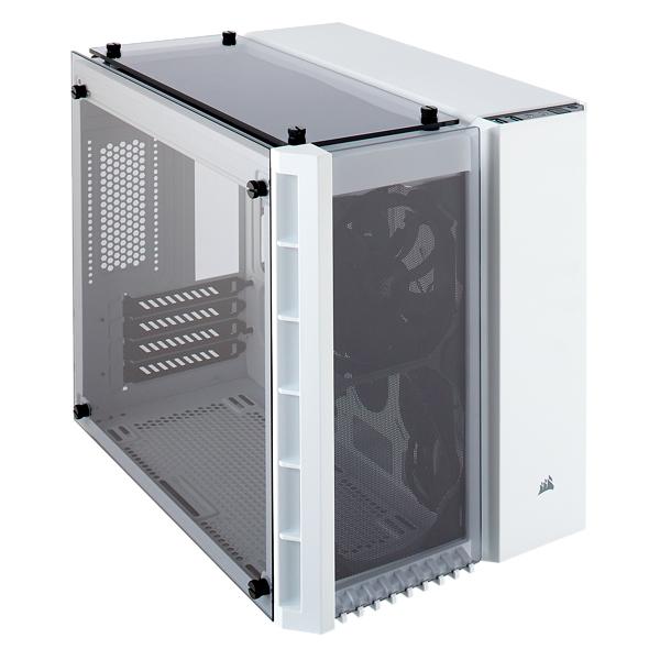 Corsair Crystal 280X Micro-Tower White computer case