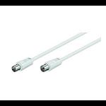 Maximum 1391 1.5m IEC IEC White coaxial cable