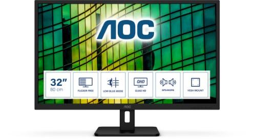 AOC E2 Q32E2N LED display 80 cm (31.5