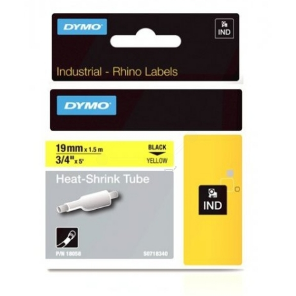 DYMO 18058 (S0718340) Embossing tape, 19mm x 1,5m