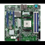 Asrock X470D4U2-2T motherboard AMD X470 Socket AM4 micro ATX