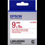 Epson C53S653008 Rood op wit labelprinter-tape
