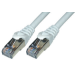 MCL Cable RJ45, CAT 6, Grey, 0.5 m 0.5m Gris cable de red