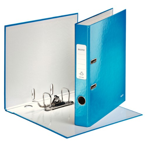 Leitz 180° WOW ring binder A4 Blue