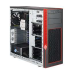 Supermicro SYS-5038AD-I server barebone Intel® X99 LGA 2011-v3 Tower Black