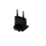 Zebra CN-000803-05 power plug adapter Type C (Europlug) Black