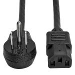 """Tripp Lite P006-003-15D power cable Black 35.4"""" (0.9 m) NEMA 5-15P IEC C13"""