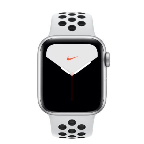 Apple Watch Nike Series 5 smartwatch Silver OLED Cellular GPS (satellite)