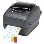 Zebra GX430t Thermal transfer 300 x 300DPI Black,Grey