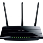 TP-LINK TD-W9980B Gigabit Ethernet Black wireless router