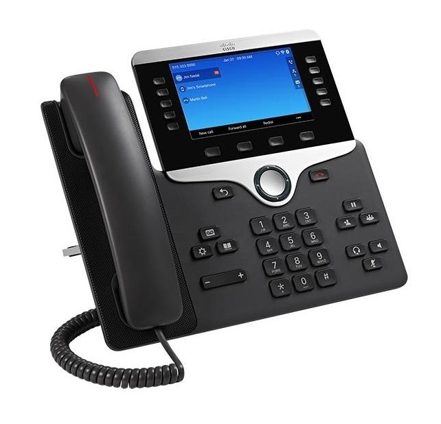 Cisco 8841 IP phone Black,Silver Wired handset