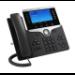 Cisco 8841 teléfono IP Negro, Plata Terminal con conexión por cable