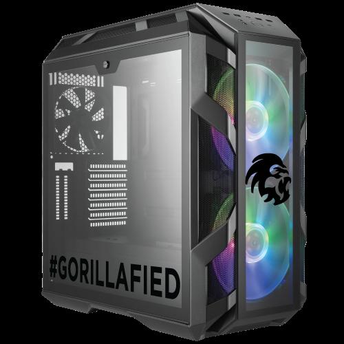 Gorilla Gaming BOSS 3.2 - i9-9900K 3.6GHz, 16GB RGB RAM, 500GB NVMe, 2TB, 8GB RTX 2080 Super