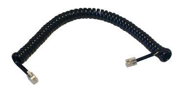 MCL FCM11SPIR-2M cable telefónico 2,10 m Negro