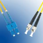 Microconnect FIB121002 fibre optic cable 2 m ST SC Yellow