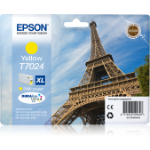 Epson Eiffel Tower T7024 Original Gelb 1 Stück(e)