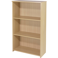 FF Serrion 1200mm Medium Bookcase Maple