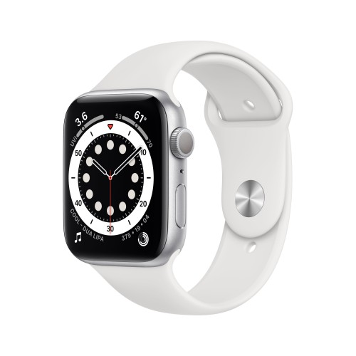 Apple Watch Series 6 40 mm OLED Silver GPS (satellite)