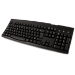 Accuratus 260 EURO HUB keyboard USB QWERTY English Black