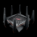 ASUS ROG Rapture GT-AC5300 router inalámbrico Tribanda (2,4 GHz/5 GHz/5 GHz) Gigabit Ethernet Negro