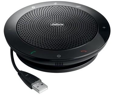 Jabra 510 speakerphone Universal Black USB 2.0