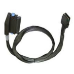 Hewlett Packard Enterprise 507692-001 0.8m Black Serial Attached SCSI (SAS) cable