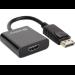 Sandberg Adapter DP1.2>HDMI2.0 4K60 video cable adapter